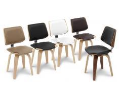 Silla de madera – Hambourg – bicolor