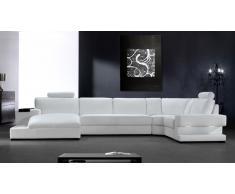 Sofa panoramico de angulo Kubo con luz