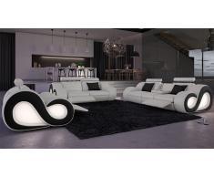Nesta - Salón de relajación con sofá de 3 plazas + 2 plazas + butaca