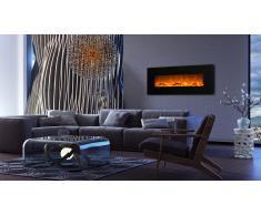 Chimenea eléctrica con marco negro - Kamin negra 50