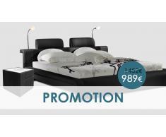 Bianco negro 140cm - Dormitorio completo - OFERTA PROMOCIONAL