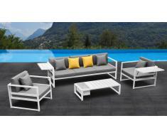 Tamesi - Salón de jardín sofá 3 plazas +2 butacas + mesa baja