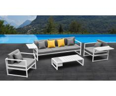 Tamesi - Salón de jardín completo de aluminio