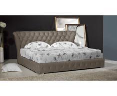 Sonno - Cama barroca de tejido acolchada