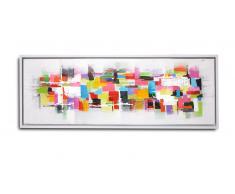 Cuadro moderno pintura al óleo 120x40 cm - Nalay