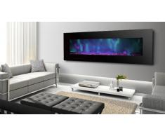 Chimenea eléctrica 182 cm - Luxury Kamin Negro