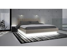 Cama de diseño con luces leds - Rifiano
