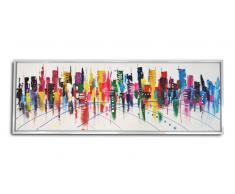 Cuadro moderno pintura al óleo 150x50cm - Valki
