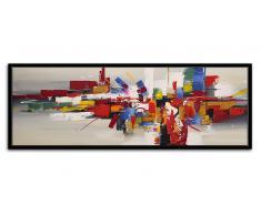 Cuadro moderno pintura al óleo 150x50cm - Romny
