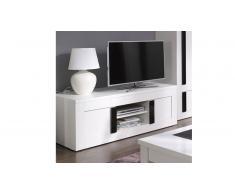 Mueble TV color blanco lacado - Arendy