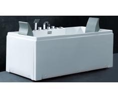 Bañera multimasajes con cabeceros - Glina