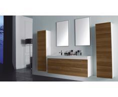 Mueble de baño completo con lavabo double 138 cm Ortense
