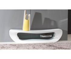 Mueble TV - Curvy - lacado blanco