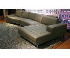 Life Style - Sofá de ángulo de piel