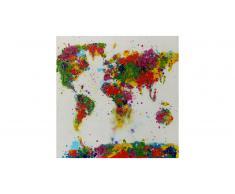Cuadro moderno de pintura al óleo 80x80cm - Saky