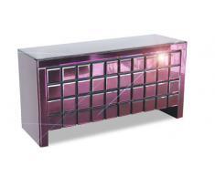 Editta - Cómoda espejo diseño violeta