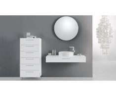 Mueble de baño completo con lavabo 120 cm Vecchio