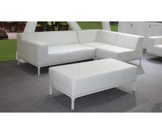 Conjunto sofá + puf interior / exterior Saint-Tropez