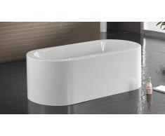Bañera libre de instalación al diseño oval Emiliana
