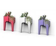 Jardinera de exterior - Conjuto de 2 mesas vegetales S - Gary