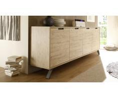 Aparador moderno 4 puertas de madera - Nekho