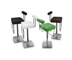 Cayman - Taburete de bar de diseño, asiento 65/86 cm