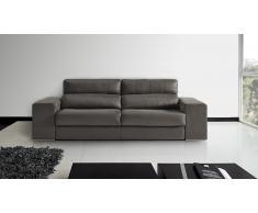 Sofá-cama 3 plazas de tela - Pozalo