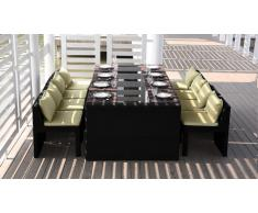 Follow dining - Sillas y mesa de comedor para exterior