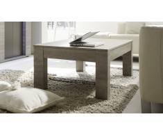 Mesa de centro color madera gris - Shepparton