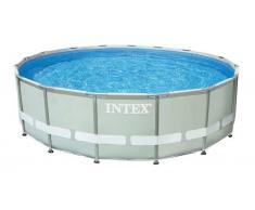INTEX Piscina de PVC Intex Ultra Frame 488x122 cm Set Depuradora Arena 28324