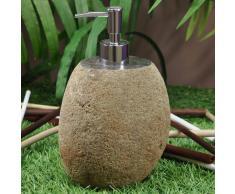 WANDA COLLECTION Dispensador de jabón de piedra de río - WANDA COLLECTION