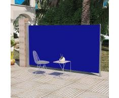 vidaXL Toldo lateral de jardín o terraza 160 x 300 cm azul