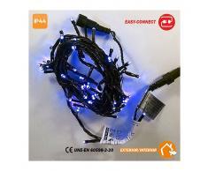 EDM GRUPO Guirnalda Led Easy-Connect Azul IP44 32 - EDM GRUPO