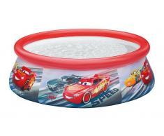 INTEX - Piscina hinchable -cars 183x51cm - 886 litros (28103)