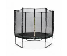 ALICE'S GARDEN Camas elasticas, trampolin para niños de 245cm, hasta 150kg, Verde, Pluton