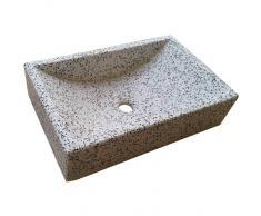 TERRAZOS CANTALEJO Lavabo de Piedra Rectangular Dálmata
