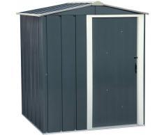 Duramax ECO 5X4, caseta de jardín metálica 150 x 120 cm., 1.80 m2
