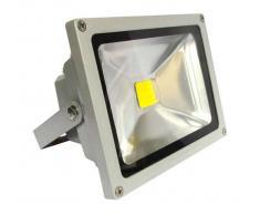 LEDBOX Proyector Led de exterior MICROLED, 50W, Blanco cálido - LEDBOX