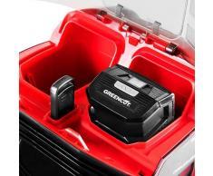 GREENCUT Cortacesped bateria litio 56V MAX 2Ah corte 406mm mulching –Greencut