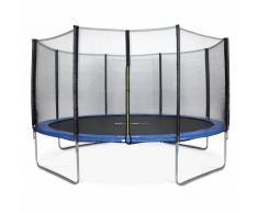ALICE'S GARDEN Camas elasticas, trampolin para niños de 430cm, hasta 150kg, Azul, Venus