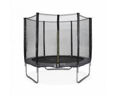 ALICE'S GARDEN Camas elasticas, trampolin para niños de 245cm, hasta 150kg, Gris, Pluton