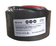 EDM TRANSFORMADOR 300W AC12V IP65 PARA BOMBILLA HALOGENA PISCINA - EDM