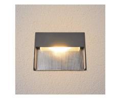 LAMPENWELT Lámpara empotrada pared LED Nandita, luz indirecta - LAMPENWELT