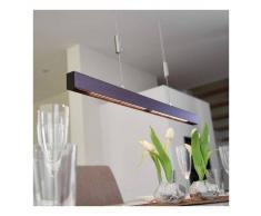 LAMPENWELT Riel de iluminación LED colgante Nora - 78 cm - LAMPENWELT