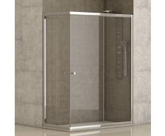 FUTURBAÑO Mampara de ducha Catania angular - 70x90 cm -