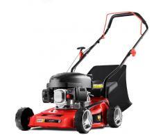 GREENCUT Cortacesped traccion manual 407mm motor gasolina 139cc 5cv –GREENCUT
