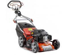 """GREENCUT Cortacesped autopropulsado 21"""" motor 218cc 7,5cv recogida 4-en-1 -Greencut"""