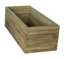 FITOR FORESTAL Jardinera rectangular 120x50x42cm - FITOR FORESTAL