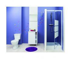 LT AQUA + MAMPARA de ducha serigrafia MISSI pivotante 90 Dimensiones : 90x185 cm - Aqua +