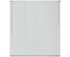 vidaXL Persiana aluminio 120x160 cm plateada